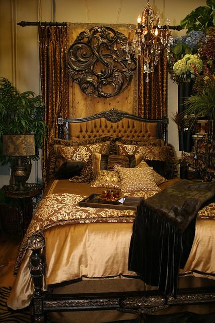 Gold And Bronze Queen Velvet Bedding Flickr Photo Sharing