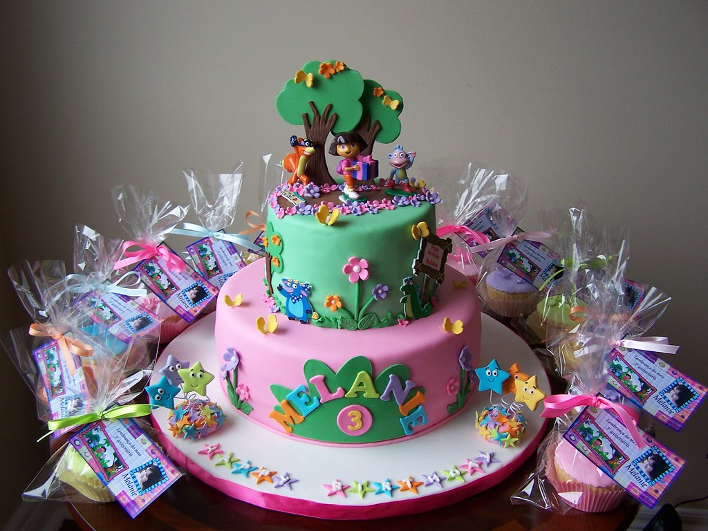 Dora Cake Recipe In English: This Is The Dora Cake With The