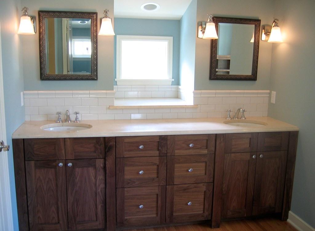 Black vanities img 0497 black walnut master bath vanity for Bathroom cabinets 250mm