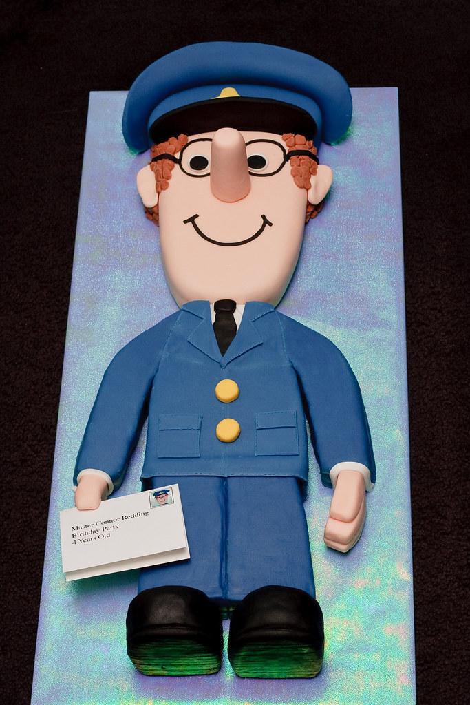 Postman Pat Cake 100 Edible 27 Quot High 3d Birthday Cake