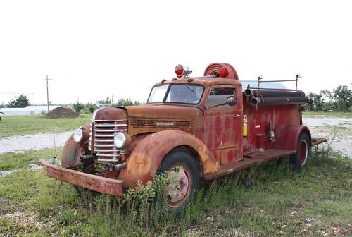 Diamond T Fire Truck Flickr Photo Sharing