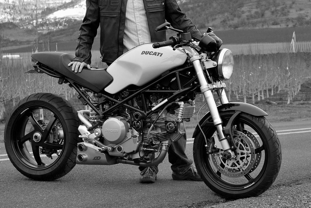 Ducati Monster Grips
