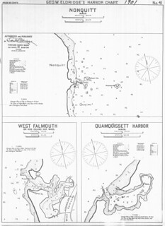 Nonquitt [and] West Falmouth or Hog Island Har. [and] Quamquisett Harbor, Mass. | by uconnlibrariesmagic