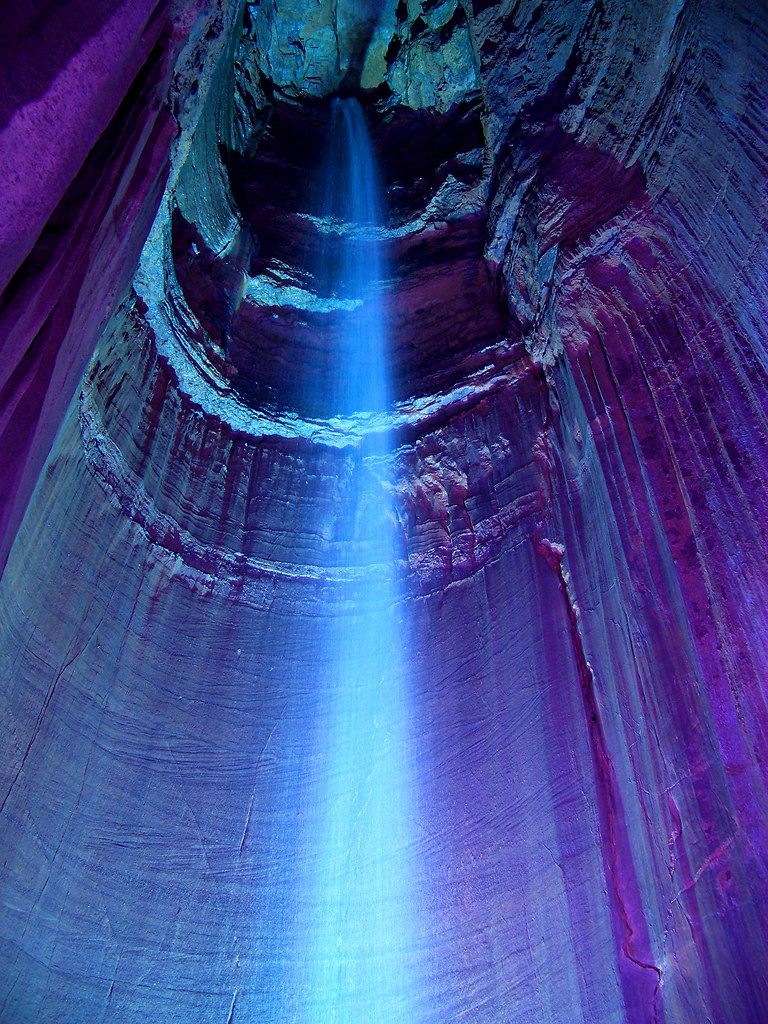 Ruby Falls 2 Another Angle Of The 145 Ft 44m