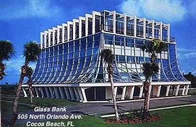 Glass Bank Building Cocoa Beach Fl Jim Hillhouse Flickr
