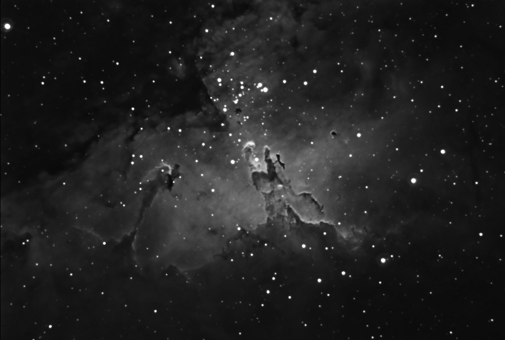 M16 - Eagle Nebula - Pillars of Creation - Narrowband | Flickr