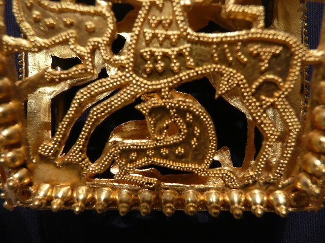 Ancient Roman Gold Ornamental Burial Jewelry Grave 24 was Flickr