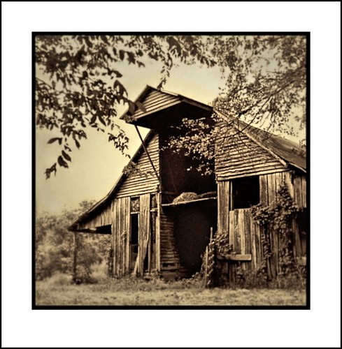YASHICA 635 - THE OLD BARN | by photogtom43