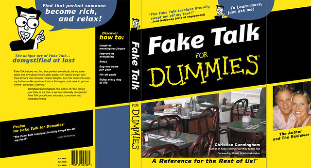 Fake Talk for Dummies– Book Cover | Book cover created for a… | Flickr