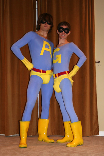 Me and Brandon as Ace and Gary, the Ambiguously gay duo | by fernloft