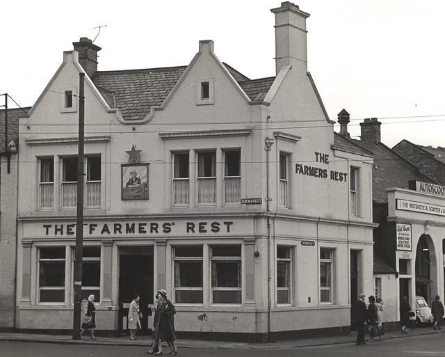 013980 The Farmers Rest Haymarket Newcastle Upon Tyne 1964