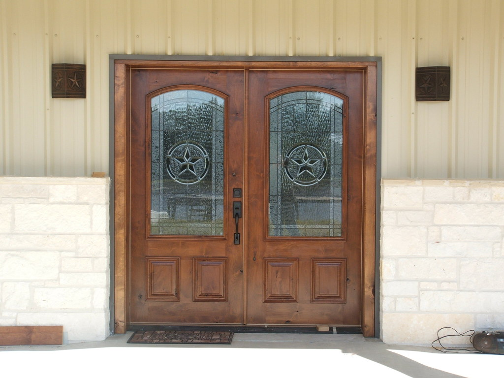 Front door barndominium erwin construction flickr for Doors for front door