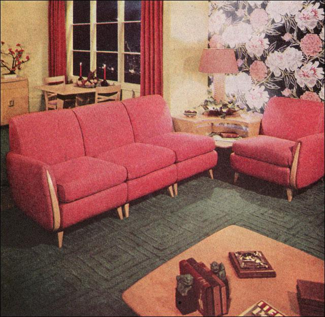 1949 Heywood Wakefield Living Room This Living Room