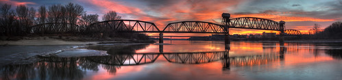 Boonville: Katy Bridge Panorama 1.23.2009 | by Notley