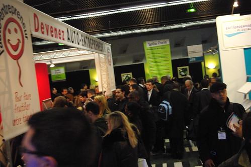 Salon des entrepreneurs paris 2009 christophe ducamp for Salon des entrepreneurs paris