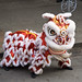 red lion dancing