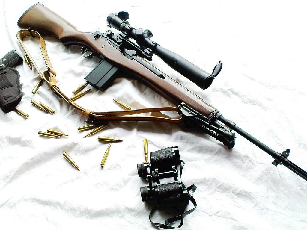 G&G M14 Veteran Type | Flolito | Flickr M14 Sniper Rifle Usmc