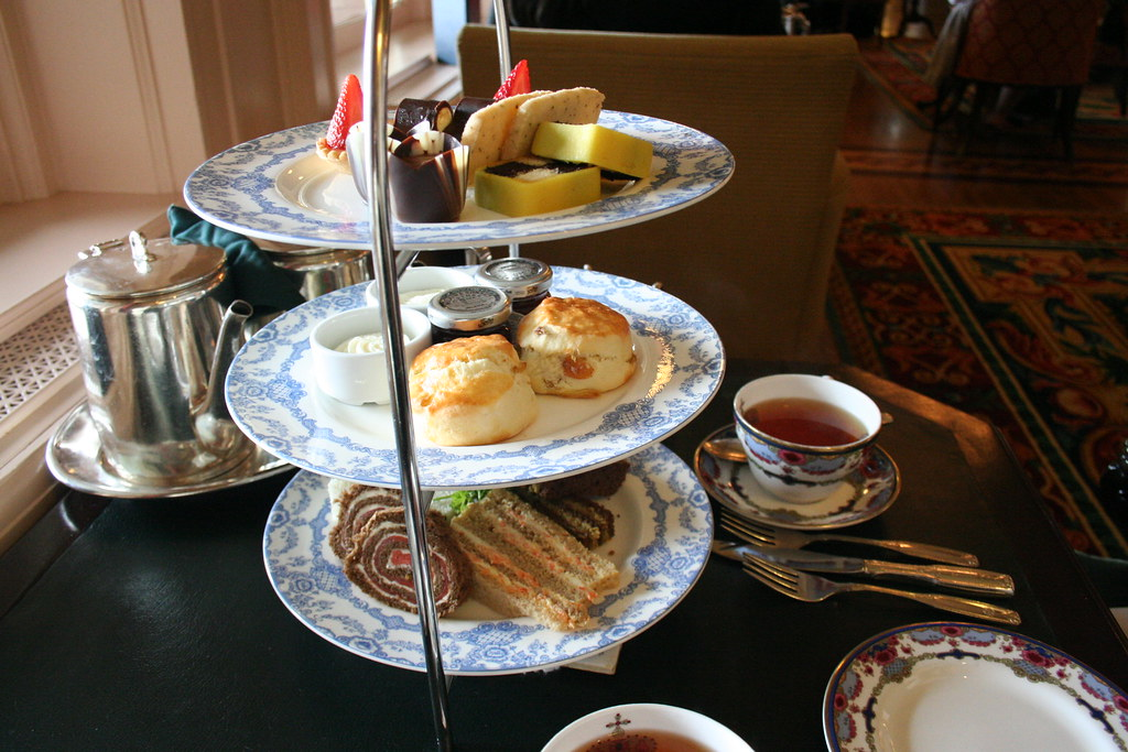 Afternoon Tea At The Empress Hotel Victoria Robin