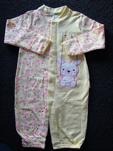 Non Scratch Mittens + 2way wearing baby pajama/one-piece ...