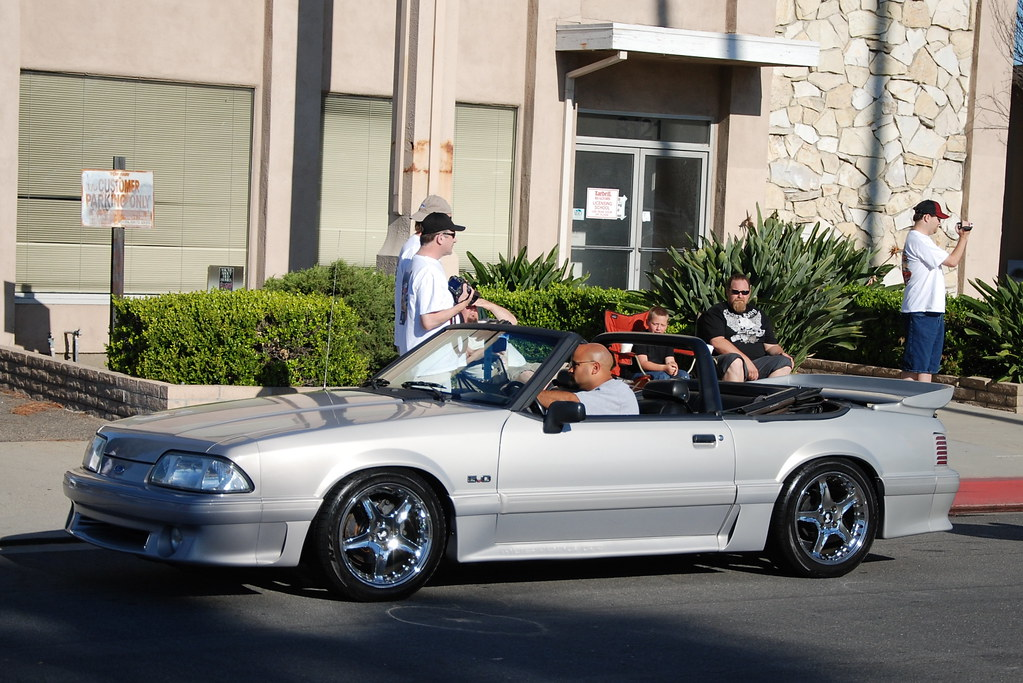 Ford Mustang 5 0 Gt Foxbody Convertible With Chrome Svt Co