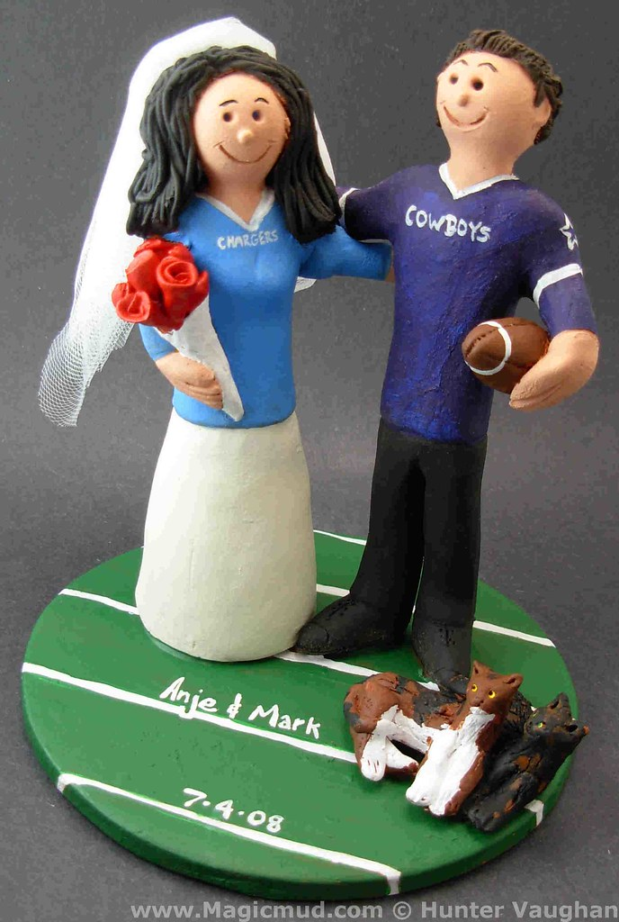 wedding cake toppers dallas tx dallas cowboys wedding cake topper dallas cowboys 26447