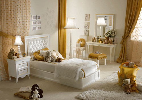 Modern feminine bedroom design picture romantic feminine for Modern feminine bedroom designs