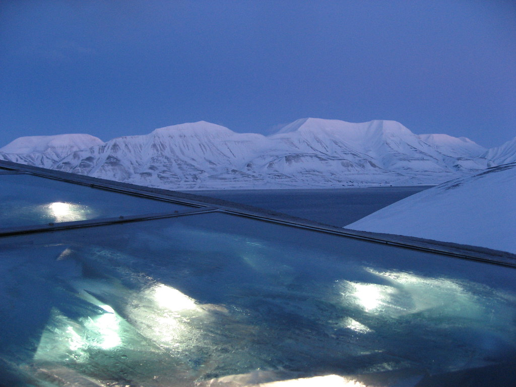 View from the Roof of the Svalbard Global Seed Vault