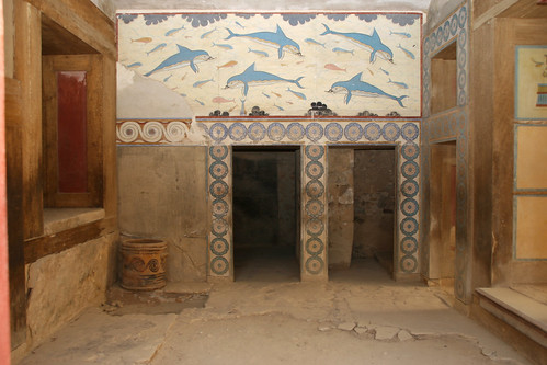 Dolphin mural queen 39 s room knossos kirk siang flickr for Dolphin mural knossos