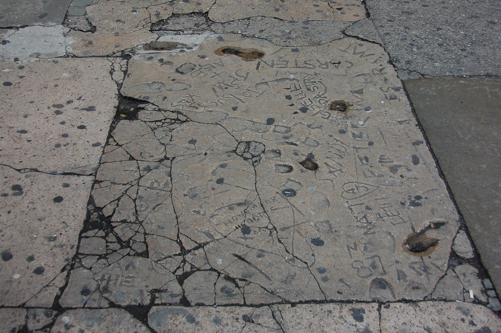 Pavement archaeology