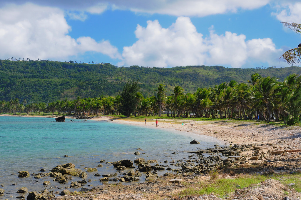 Asan Beach First Landing Beach To Guam During War Of
