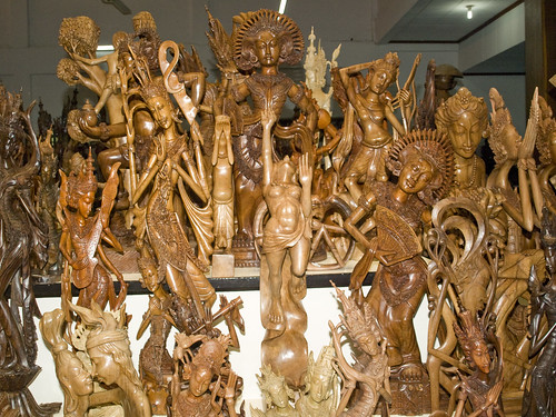 balinese wood carving