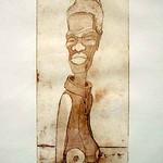 La Esclava, obra inspirada en una escultura del Fondo de arte República del Arte