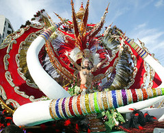Spain - Spectacular carnival float in Tenerife. | by visiteurope.com
