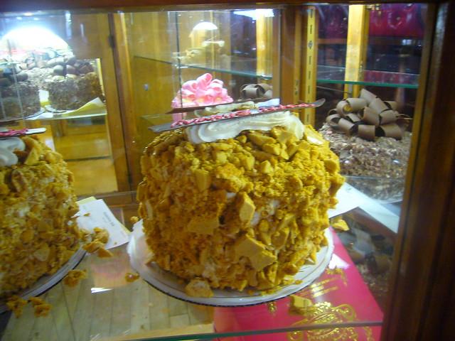 Madonna Inn Toffee Crunch Cake