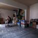 Achterhuis, opgeruimd, gelijkvloers