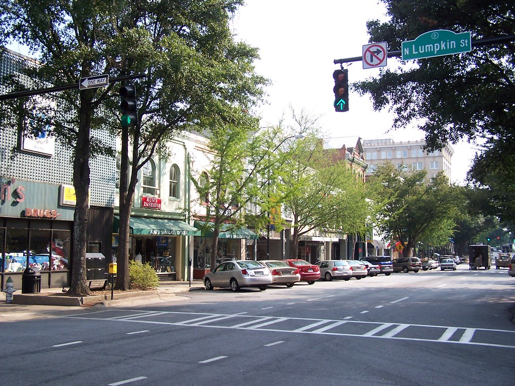 Beautiful Downtown Athens Georgia Athens Is Home Of The