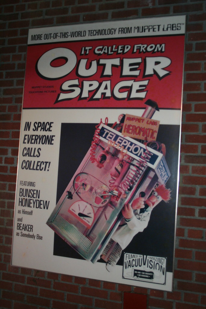 Muppet vision 3d queue it called from outer space flickr for 3d map of outer space