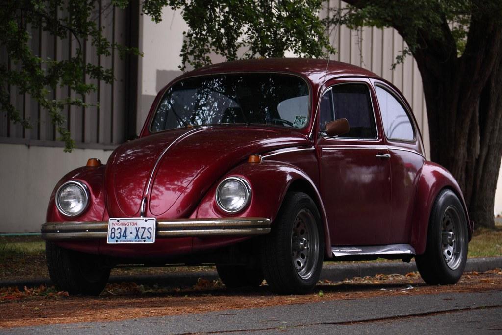 Maroon Vw Beetle Andrew Smith Flickr