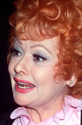 Color Photo Lucille Ball Natural Hair Color