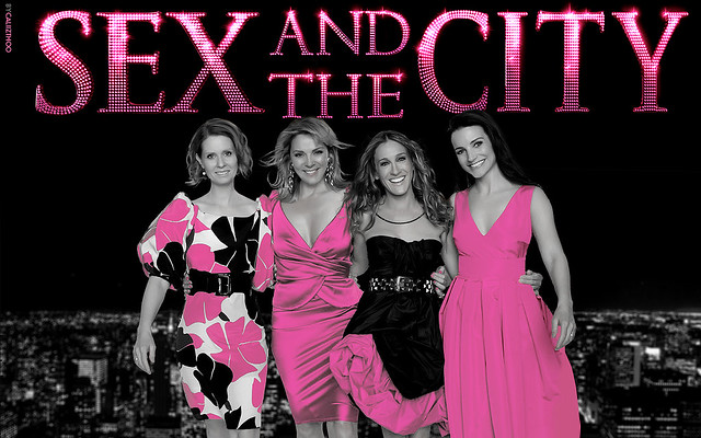 Sex and the city pink