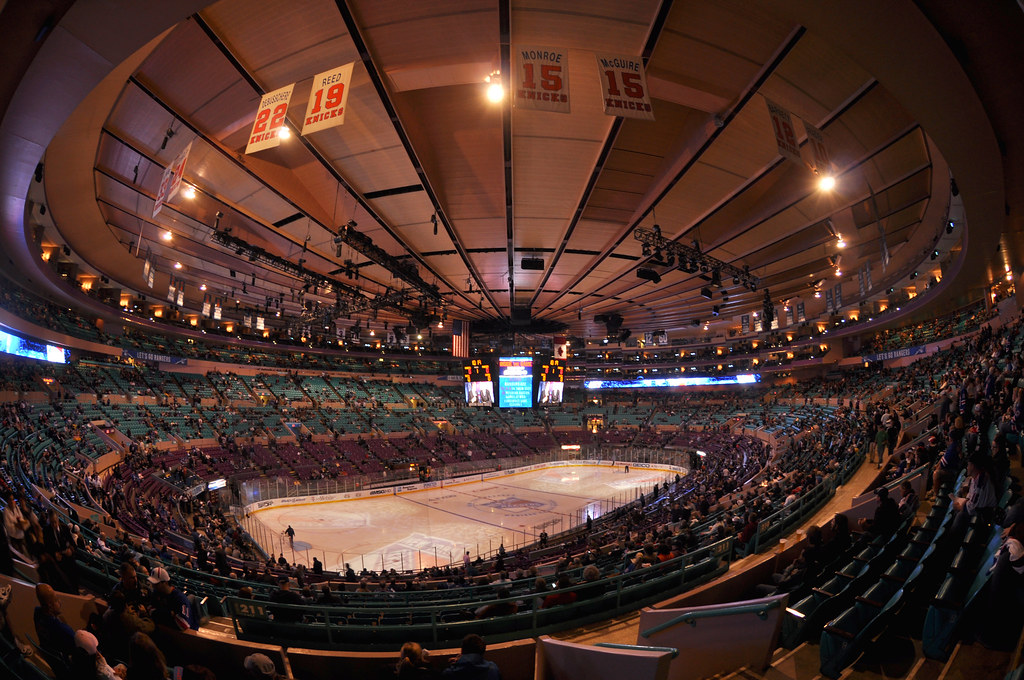 Msg Madison Square Garden Nyc Ludovic Bertron Flickr