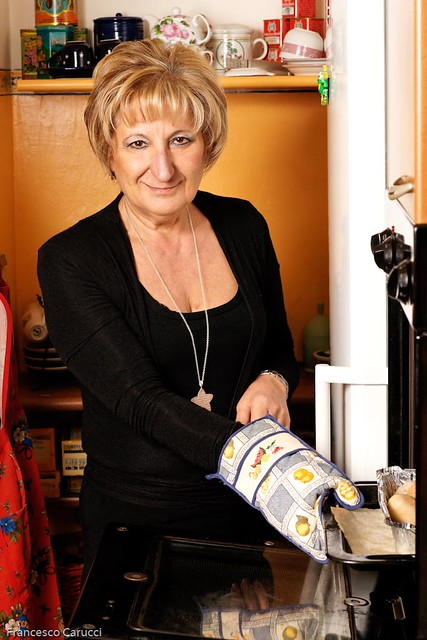 Mature Italian Woman  Mature Italian Woman Cooking -7217