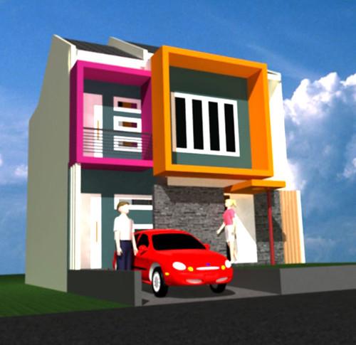 desain rumah model minimalis 2 lantai desain rumah