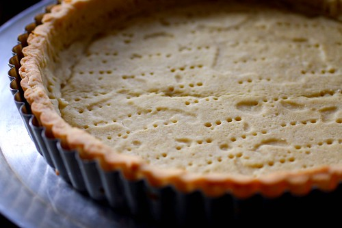 partially baked unshrinkable tart shell | by smitten kitchen