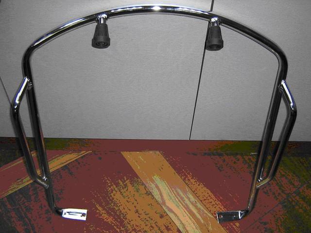 vespa px front crash bars