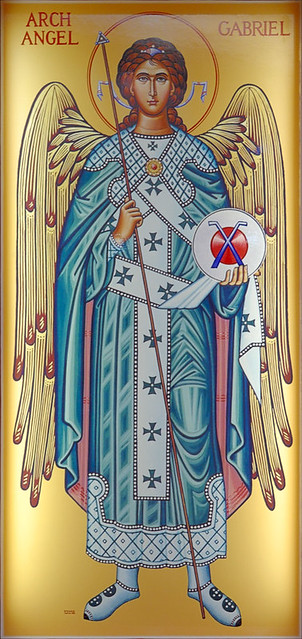 """saint gabriel muslim singles The word angel is from the greek """"aggeslos,"""" and means """"messenger"""" st gabriel is one of seven archangels who enter and serve before the glory of the lord, and one of the three archangels."""