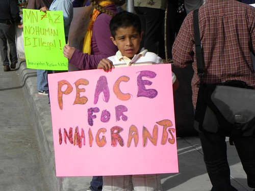 Minneapolis protest against Arizona immigrant law SB 1070 | by Fibonacci Blue