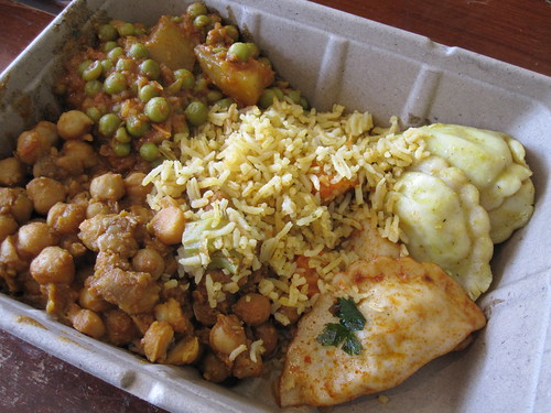 Indian Buffet Picks from Whole Foods | by veganbackpacker