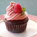 Chocolate Cuppie with Raspberry Buttercream