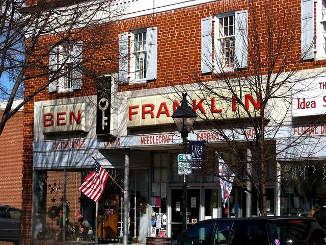 ben franklin store fredericksburg va flickr photo sharing. Black Bedroom Furniture Sets. Home Design Ideas